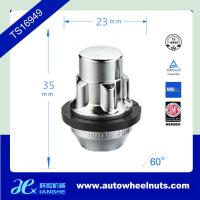 China Length 35 Mm Security Auto Wheel Lock Nuts With Washer 7/16R.H , 1/2R.H wholesale
