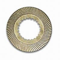 China Friction Disc for Engine Machine, Made from Right Raw-material, Steady-quality and Competitive Price on sale