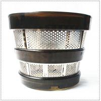 China AISI Wire Cloth Filter , Juicer Stainless Steel Mesh Filter Baskets 304 Food Grade wholesale