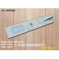 China Motion Sensor Solar LED Outdoor Lights With Lithium Battery 12V 36AH wholesale