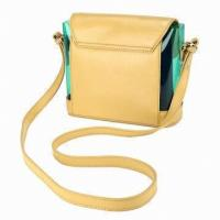 Quality Crossbody Leather Bags For Women / Summer Beach Bag Of  Long Handle for sale