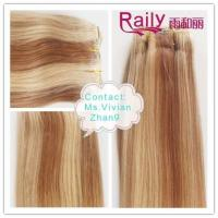 China Beauty Hair 100% Human Hair Extension Machine Made Weft wholesale
