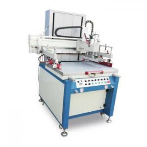 China Semi Auto Screen Printing Machine , Vertical Printing Machine With Vacuum System wholesale