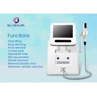 China Portable HIFU High Intensity Focused Ultrasound Wrinkle Removal Machine Three Treatment Head wholesale