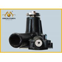 China Black ISUZU Water Pump For 6HK1 Diesel Engine , HITACHI Excavator Forklift High Strength Iron 1-13650133-0 wholesale