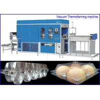 China PET Plastic sheet Egg Containers Vacuum Thermoforming Machine , big forming area on sale