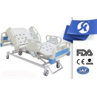 China Five Functions Full Electric Hospital Bed , Medical Electric Beds ABS Surface on sale