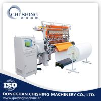 Buy cheap Industrial Computerized Quilting Machine Two Needle Bar 3.5 KW Rating Power from wholesalers
