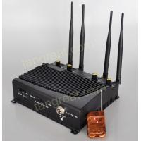 China tín hiệu gây nhiễu Indoor GSM 3G 4G Cell Phone Signal Jammer With Remote Control TG - 4CA wholesale