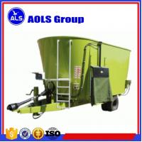China Pull type TMR feed mixer PTO Vertical Mixer Wagons cattle feed mixing machine wholesale