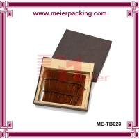 China Wallet paper papckaging box/High end cardboard paper storage box ME-TB023 wholesale