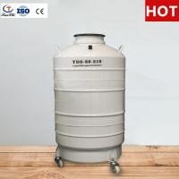 China TianChi 60L Cryogenic Liquid Nitrogen Tank YDS-60-210 Stainless Steel Storage Container Price on sale
