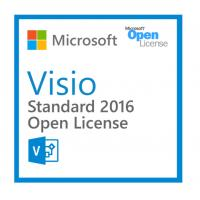 China Easy Management Microsoft Visio Standard 2016 Open License For Pc Only wholesale