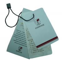 China Custom Clothing Labels Tag, Labels Hang Tags For Clothes 0.2 ~ 2mm Thickness wholesale