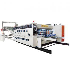 China Feeder Corrugated Carton Box High Speed Flexo Printing Slotting Die Cutting Machine wholesale