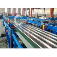 China Hydraulic High Speed Metal Roofing Sheet Roll Forming Machine With Long Life on sale