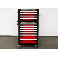 """China 775mm 27"""" Stainless Steel Top Cover Rolling Tool Cabinet On Wheels wholesale"""