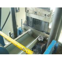 China 15m / Minute Roof Ridge Cap Roll Forming Machine Material Thickness 0.3 - 0.6mm wholesale