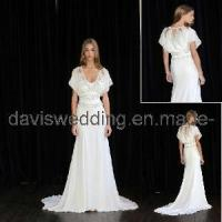 China White Long-Sleeve Evening Gown (ED-23) wholesale