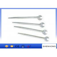 Quality 280 - 520mm Length Tower Erection Tools , Light Weight Sharp Tail Open - End Wrench for sale