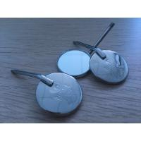 China 22mm Diameter Stainless Steel Dental Mirror , Dental Inspection Mirror Front Surface wholesale
