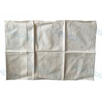 China Waterproof Medical Pillow Covers , Non Woven White Disposable Pillow Covers wholesale