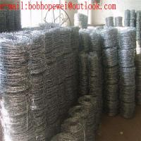 China galvanized steel coil barb wire mesh/hot-dipped galvanized (60g/m2 zinc coated ) barbed wire fence/barbed wire mesh wholesale