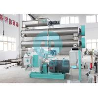 China Ring Die Sinking Fish Feed Pellet Making Machine Double layer Conditioner on sale