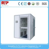 China Automatic Door Laboratory Stainless Steel Air Shower With Centrifugal Fan wholesale