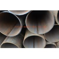 China Round Cold Rolling Steel Pipe Oiled / Black Painted , DIN EN 10210 St37-2 , St52-3 wholesale