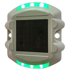 China 3000k-5000k color temprature white LED solar road stud L104*W104*H20mm on sale