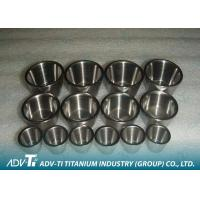 China Customized 99.9% Pure Titanium Precision Parts GR1 Crucible Good Corrosion Resistance wholesale