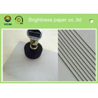 China 800gsm 1.2 mm Grey Board Paper Bulk Chipboard Sheets For Jewelry Box on sale