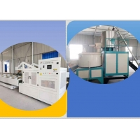 China 35kw PE PVC Single Wall 100Kg/H Pipe Extrusion Line on sale