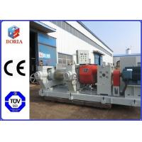 China Rubber Roller Mill Mixer Open Mixing Mill 25-50kg Feeding Capacity Per Time wholesale
