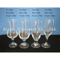 China Cheap romantic design glass champagne cup, wine goblet glass for wholesale wholesale