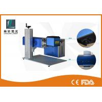 China Leather Mini Laser Engraving Machine , High Speed Portable CO2 Laser Marker wholesale