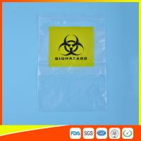 Reclosable Clear Ziplock Lab Guard Specimen Bag With Three Layer