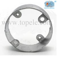 China Electric Stainless Steel Conduit Fittings BS4568 Conduit Box Extension Rings wholesale