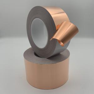 China EMI Shielding High Temperature Self Adhesive Copper Tape on sale
