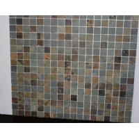 Buy cheap mosaic stone tile bathroom in slate stone from wholesalers
