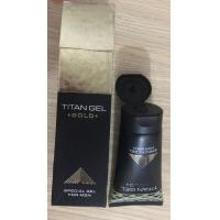China Russian TITAN GEL GOLD Male Enhancement Gel / Penis Enlargement Cream 50ml wholesale