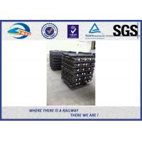 China SGS Hot Rolled Steel 4 / 6 Hole Railway Fish Plate For Connecting Rails wholesale