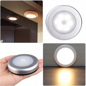 China Cordless Battery-Powered LED Night Light Motion Sensor Light on sale