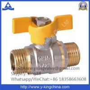 China Standard Port Brass Ball Valve Direct Factory (YD-1019) wholesale