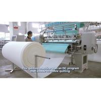 Buy cheap 64 Inches Garment Quilting Machine, Industrial Automatic Quilting Machine, High Speed Multineedle Quilting Machine from wholesalers