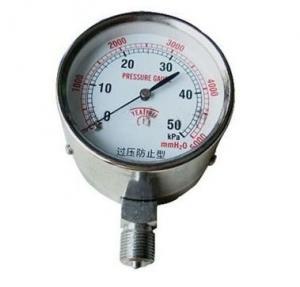 China Radial direction pressure gauge wholesale