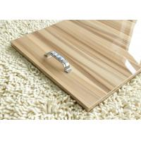 China Wood Grain 18mm Gray Plain MDF Melamine Board Sheets For Interior Decoration wholesale