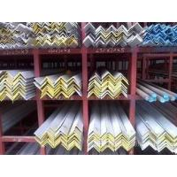China Hot Rolled High Strength Galvanized Steel Angle For Building Materials , SS Angle Bar on sale