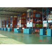 China High Capacity Storage Pallet Warehouse Racking / Selective Pallet Racking System wholesale